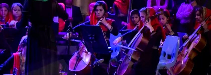 Afghanistan all-female orchestra band Zohra stealing the show in reach Davos (video)